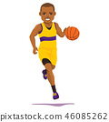basketball player active 46085262