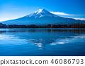 """山山縣""""富士山,河口湖 46086793"""