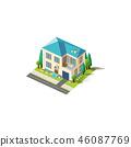 建筑设计 住所 房屋 46087769
