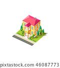 住所 房屋 房子 46087773
