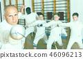 man, boys, gym 46096213