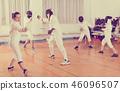 gym, stance, lunge 46096507
