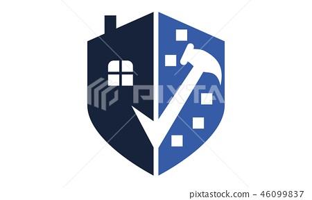 Home Construction Logo Design Template Vector Stock Illustration 46099837 Pixta