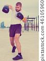 man, boxing, boxer 46105960
