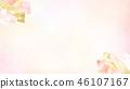 日本 - 日本風格 - 日本模式 - 背景 -  Washi  - 春天 - 櫻桃樹 - 粉紅色 46107167