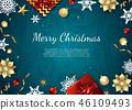 christmas, xmas, card 46109493