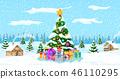 christmas, landscape, xmas 46110295