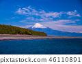 (靜岡縣)美穗的松原和富士山 46110891