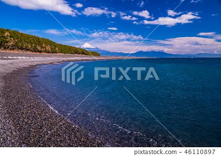 (靜岡縣)美穗的松原和富士山 46110897