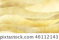 Japanese-Japanese style-Japanese pattern-background-gold foil-clouds- 霞 -waves 46112143