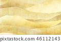 일본 - 일본식 - 일본식 디자인 - 배경 - 금박 - 구름 - 카스미 - 파도 46112143