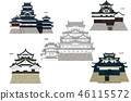 Japan Castle Tenshu National Treasure 5 Castle 46115572