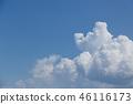 푸른 하늘과 구름 46116173