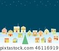 거리 크리스마스 별 46116919