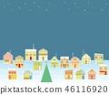 거리 크리스마스 별 46116920