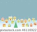 城市景觀聖誕星 46116922