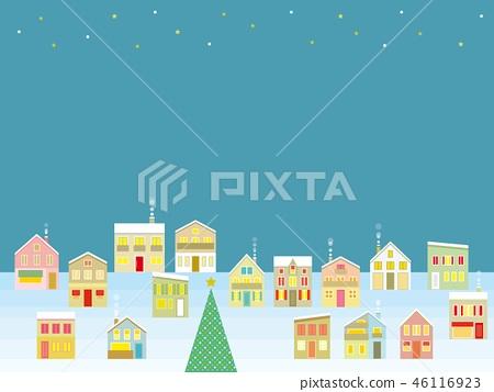 城市景觀聖誕星 46116923