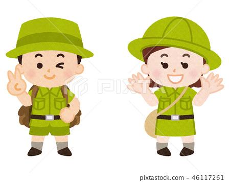 兒童的探險隊 46117261