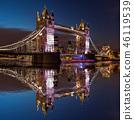 thames london evening 46119539