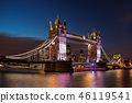 thames london evening 46119541