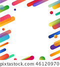 抽象 顏色 多彩 46120970