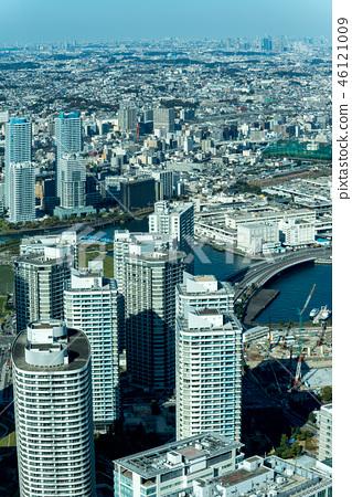 橫濱,港區未來都市風景白天 46121009