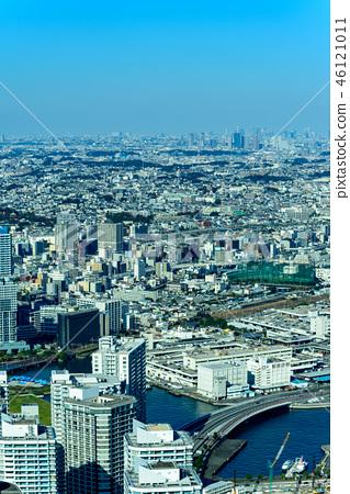 橫濱,港區未來都市風景白天 46121011