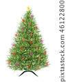 Abstract Christmas tree, vector 46122800