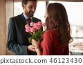bouquet flowers rose 46123430
