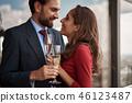 couple champagne love 46123487