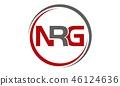 Letter N R G 46124636