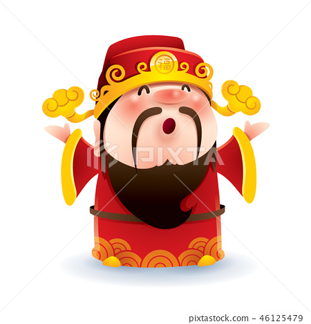 Chinese God of Wealth 46125479