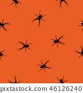 spider seamless orange 46126240