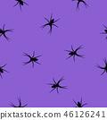 spider seamless purple 46126241