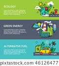 eco, concept, green 46126477