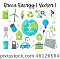 Concept of ecology and green energy 46126564
