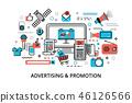 concept promotion social 46126566