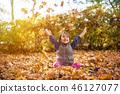 child, girl, autumn 46127077