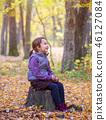 girl, child, autumn 46127084