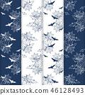 halloween pattern seamless 46128493