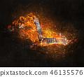 불, 불꽃, 화재 46135576