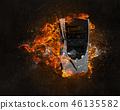 불, 불꽃, 화재 46135582