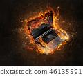 불, 불꽃, 화재 46135591