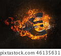 기호, 유로, 불 46135631
