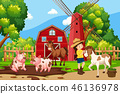 farm, nature, animal 46136978