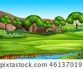 nature, landscape, green 46137019