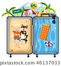travel, beach, vacation 46137033