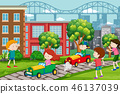 children, race, park 46137039