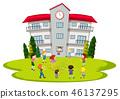 school, student, play 46137295