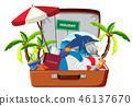 luggage holiday element 46137670